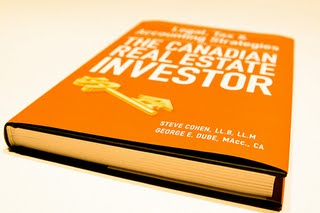 legal tax and accounting strategies for the canadian real estate investor cohen steven dube george